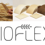 Flexibility and coatability of the bio-based fibreboard Bioflexi® [image source H. Dahy, Uni Stuttgart].